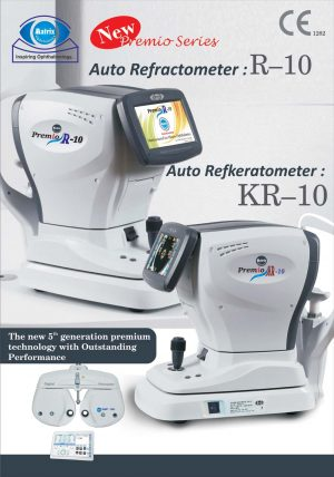 Matrix Auto Refractometer & RefKeratometer - Premio R10 & KR10